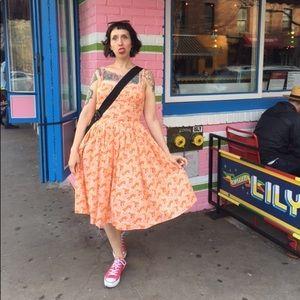 Bernie Dexter Fox Print Paris Dress